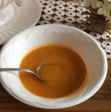 Puréed Butternut blends well into cheddar and spicy red sauces.