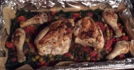 Chicken a la Clare, ready to enjoy!